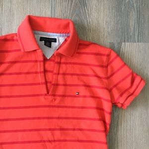 Tommy Hilfiger Cropped Polo V-Neck